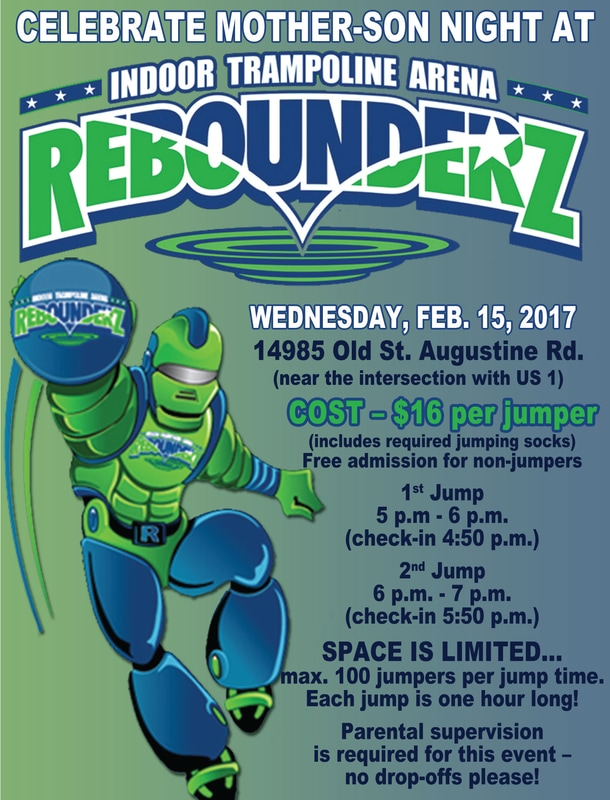 rebounderz waiver fatherdaughtermotherson - Palencia Elementary School PTO